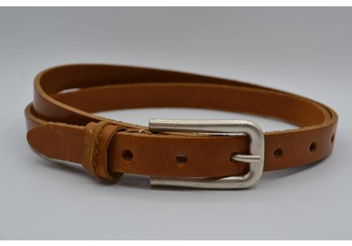 Rock 'n Rich cognac 20mm brede riem met speelse lus