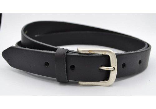 Scotts Bluf 3cm zwarte nette riem