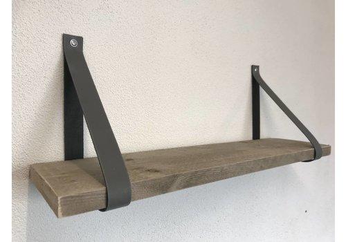 Scotts Bluf Leren Plankdragers licht grijs