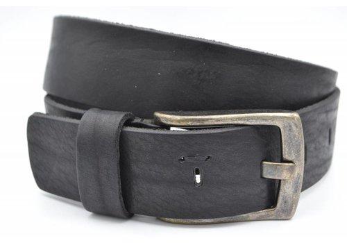 Scotts Bluf Stoere zwarte riem met gave details