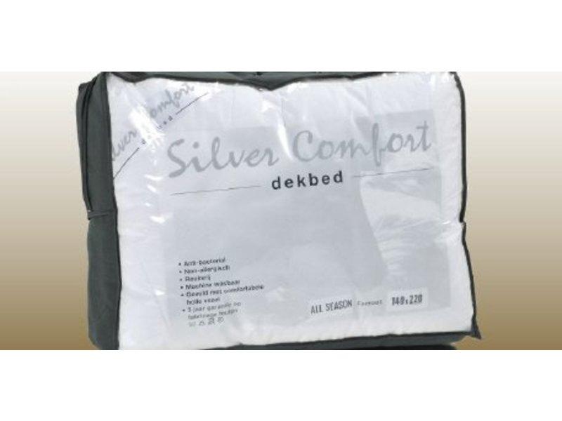 Timzo bedtextiel Silver comfort enkel dekbed