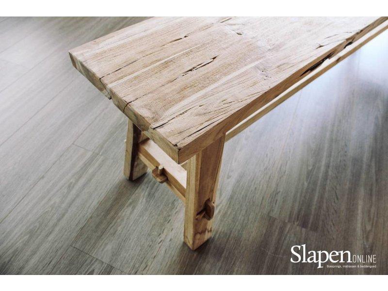 Schoolbank Old wood