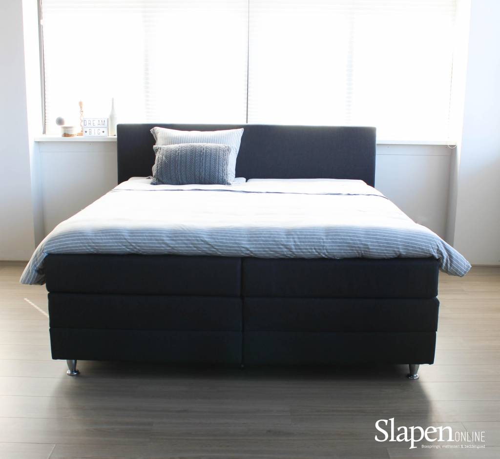 boxspring 160x200 compleet perfect boxspring batavia wit x cm with boxspring 160x200 compleet. Black Bedroom Furniture Sets. Home Design Ideas