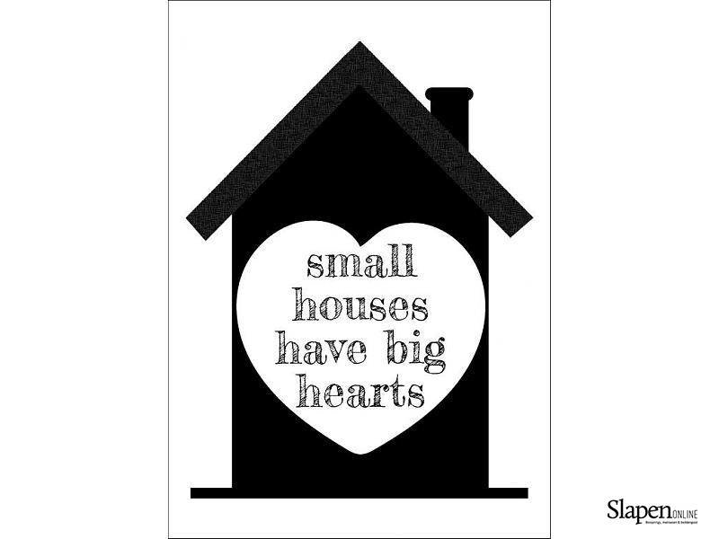 Poster small houses