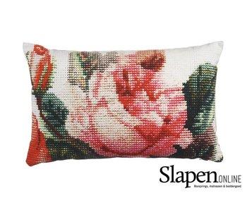 Kaat Amsterdam Sierkussen Embroidery Rose