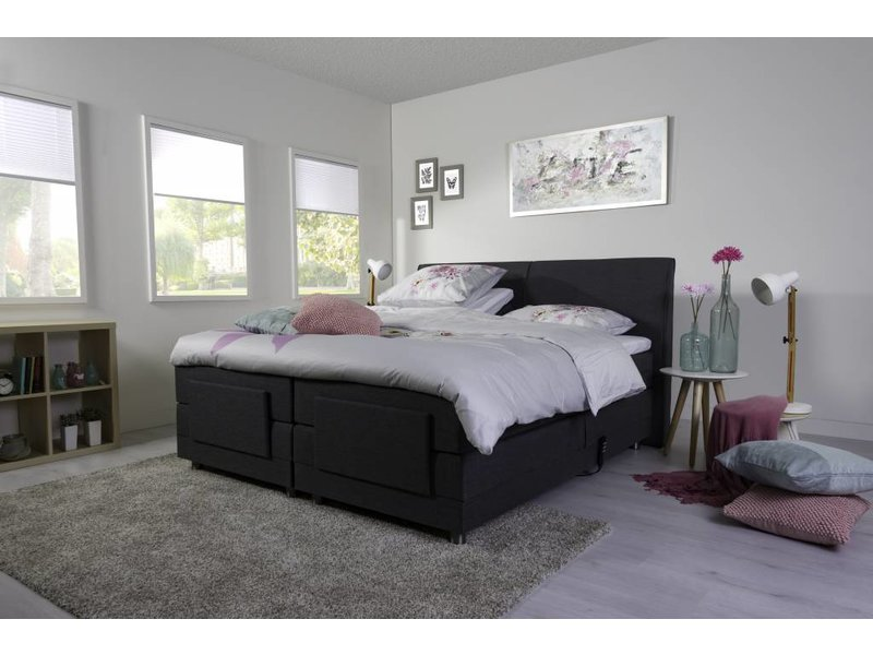 elektrische boxspring gratis levering montage slapen online. Black Bedroom Furniture Sets. Home Design Ideas