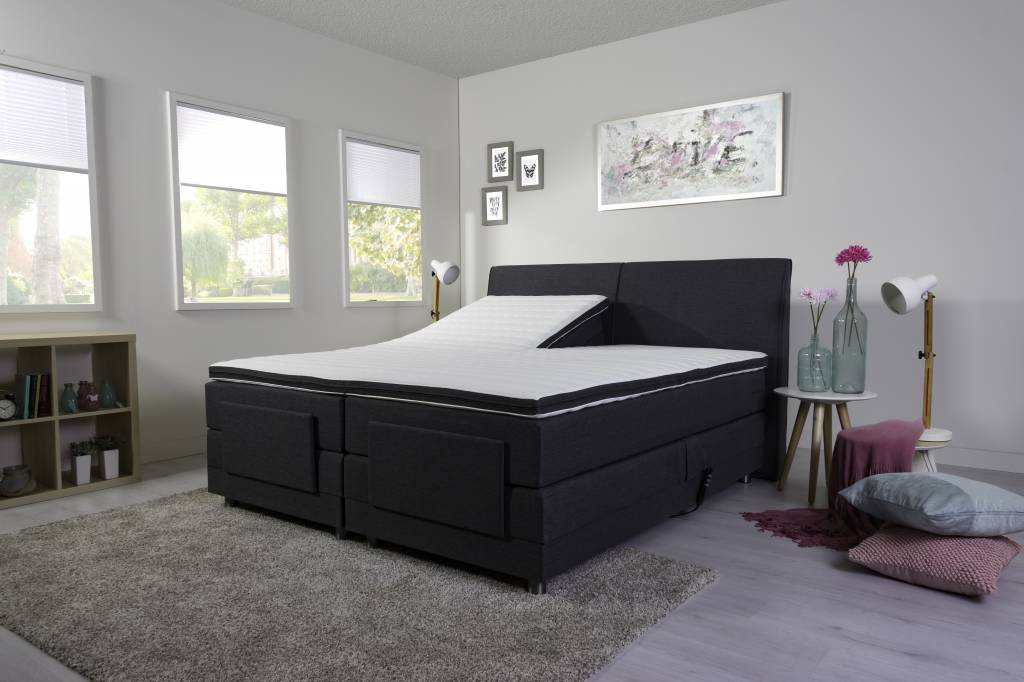 elektrische boxspring gratis levering montage slapen online. Black Bedroom Furniture Sets. Home Design Ideas