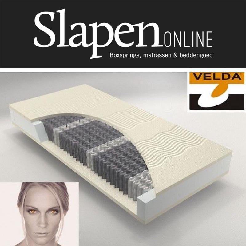 Velda matras 80x200 bij Slapen Online