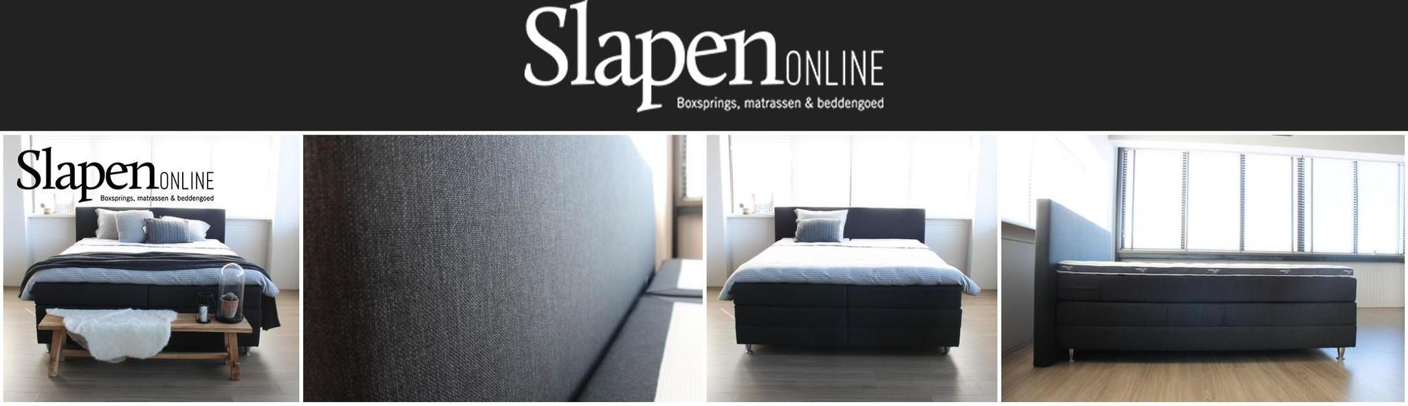 Bed 120x200 Compleet.Boxspring Compleet 120x200 Slapen Online Slapen Online
