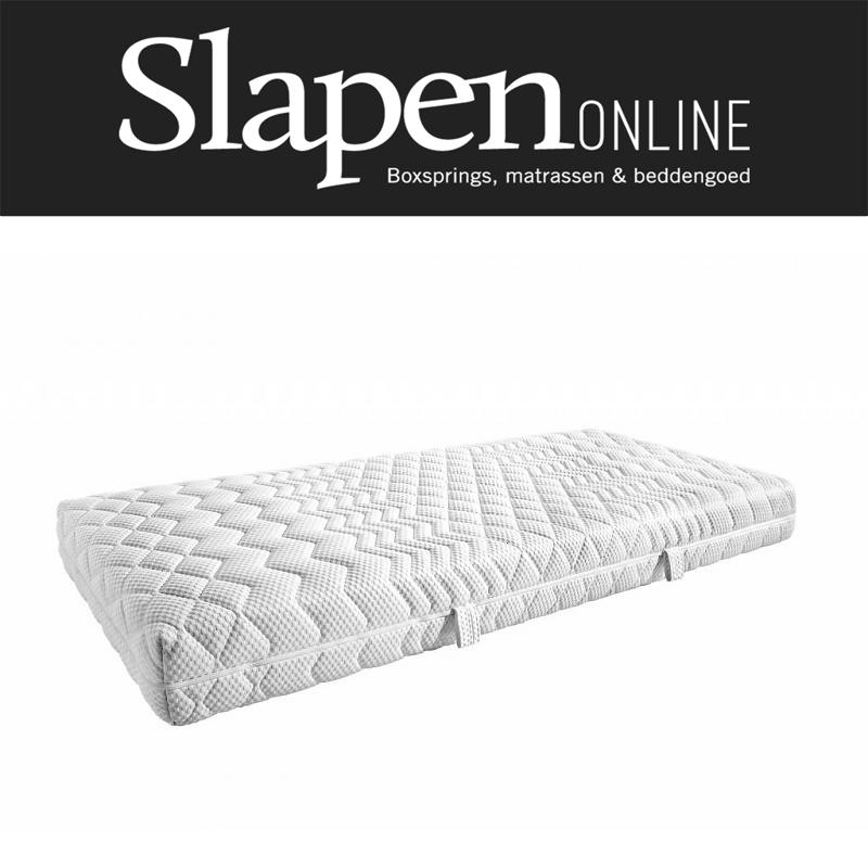 Koudschuim matras 200x200 bij Slapen Online