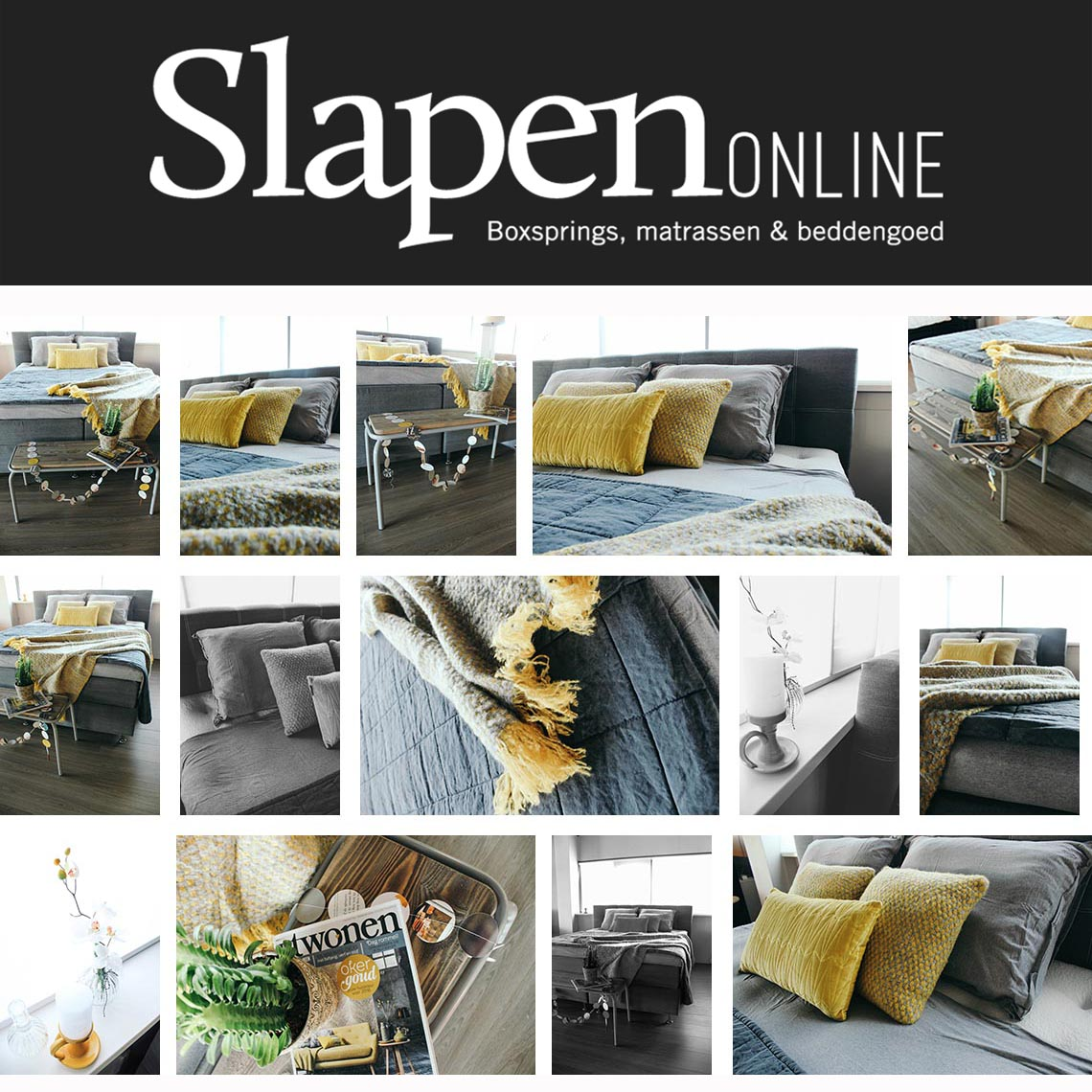Boxspring bed 160x200 bij Slapen Online