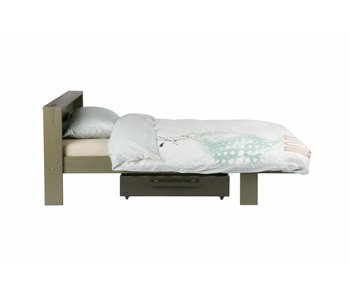 Woood Derk bed met bedlade 90x200