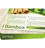 Bamboe topmatras koudschuim