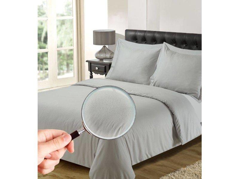 Dekbedovertrek The Luxury Home Collection Athene silver grey