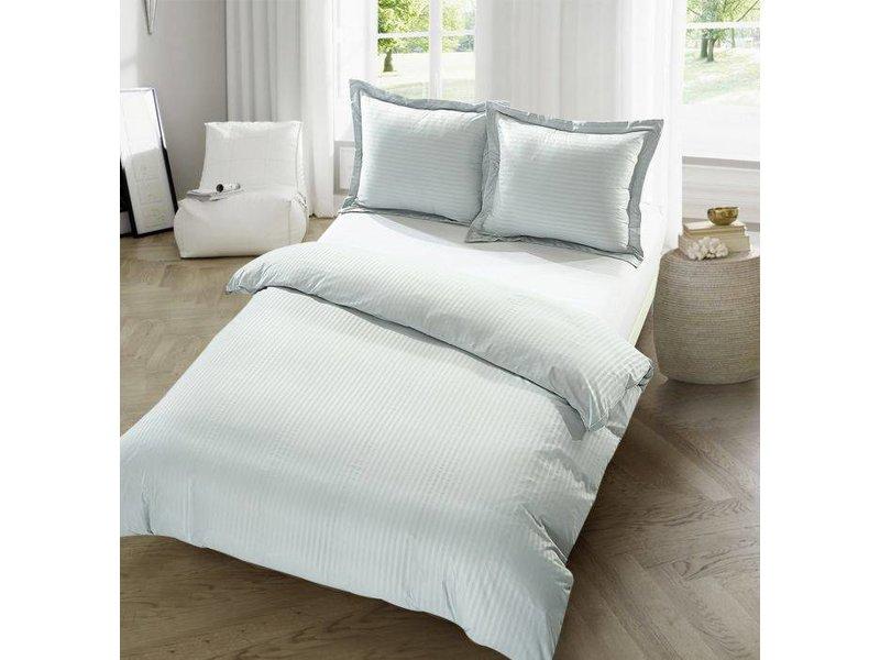 Dekbedovertrek The Luxury Home Collection Barcelona silver grey
