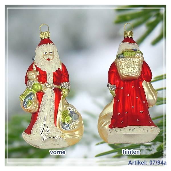 Christbaumanhanger Weihnachtsmann Gross Roter Mantel