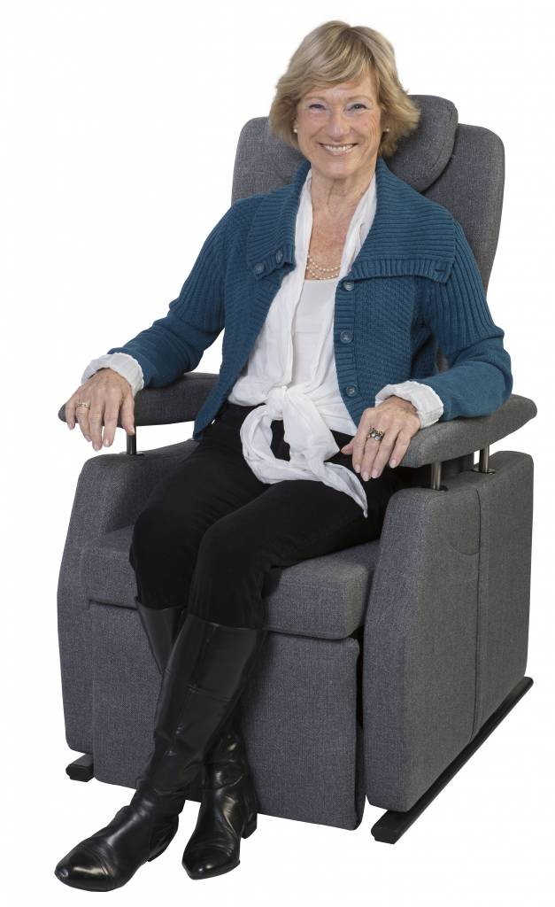 de fitform 574 vario is een ranke slanke en elegante fauteuil maxvitaal. Black Bedroom Furniture Sets. Home Design Ideas