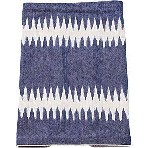 Geschirrtuch IKAT, 50x70cm, Stripe blue