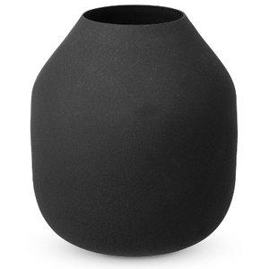 broste Copenhagen Vase CAMILLA Eisen schwarz