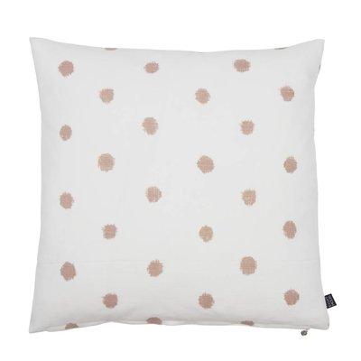 EIGHTMOOD Kissen Farah 50x50 cm weiß/pink