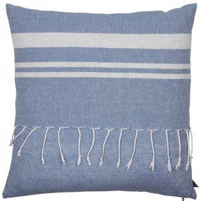 Kissen Tunis 50x50 cm blau