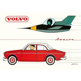 IB Antoni Poster Volvo Amazon A3