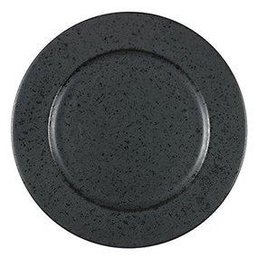 Teller 22 cm schwarz