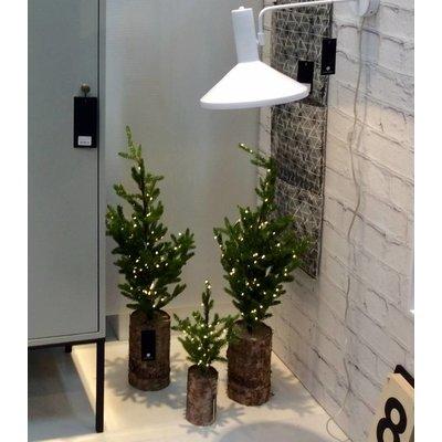 house doctor Weihnachtsbaum mit Lämpchen H 64 cm