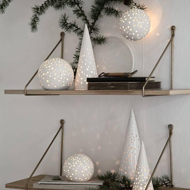kÄhler nobili windlicht teelicht snow baum h18,0cm - lille lys ... - Baum Interieur