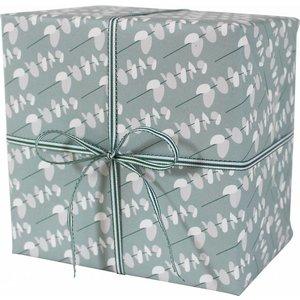 Geschenkpapier Blätterzweige 3 Bögen