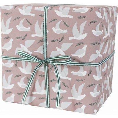 Geschenkpapier Tauben 3 Bögen