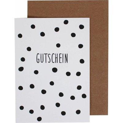 Klappkarte Gutschein
