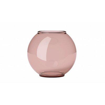 Lyngby Vase Form 70/3 burgundy