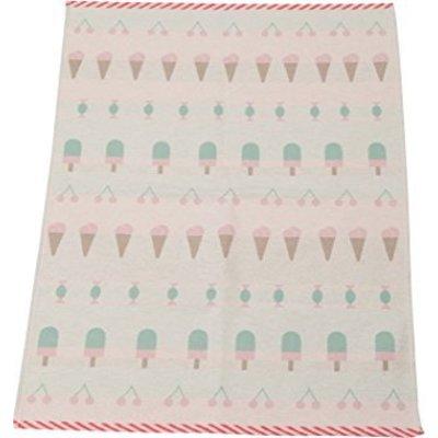 David Fussenegger Textil Babydecke Luca pastell rosa