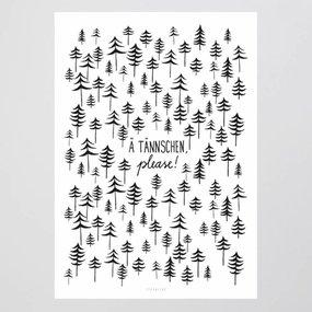 TYPEALIVE Ä Tännschen...  Poster 50 x 70 cm