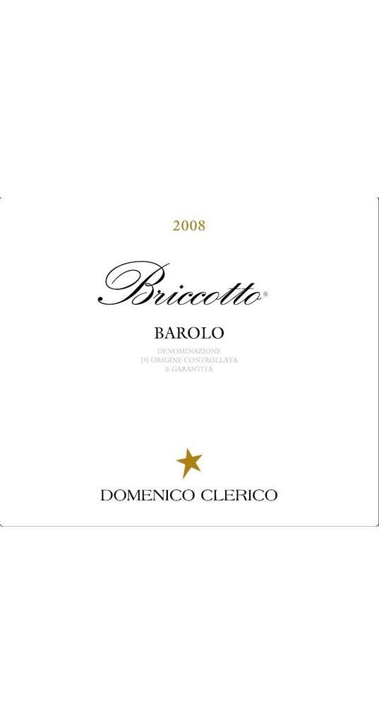 Domenico Clerico Domenico Clerico, Barolo docg Briccotto 2008