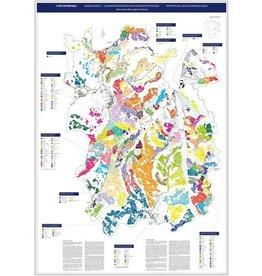 Verschiedene Mappa del Barolo