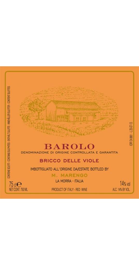 Mario Marengo Mario Marengo, Barolo docg Bricco delle Viole 2012