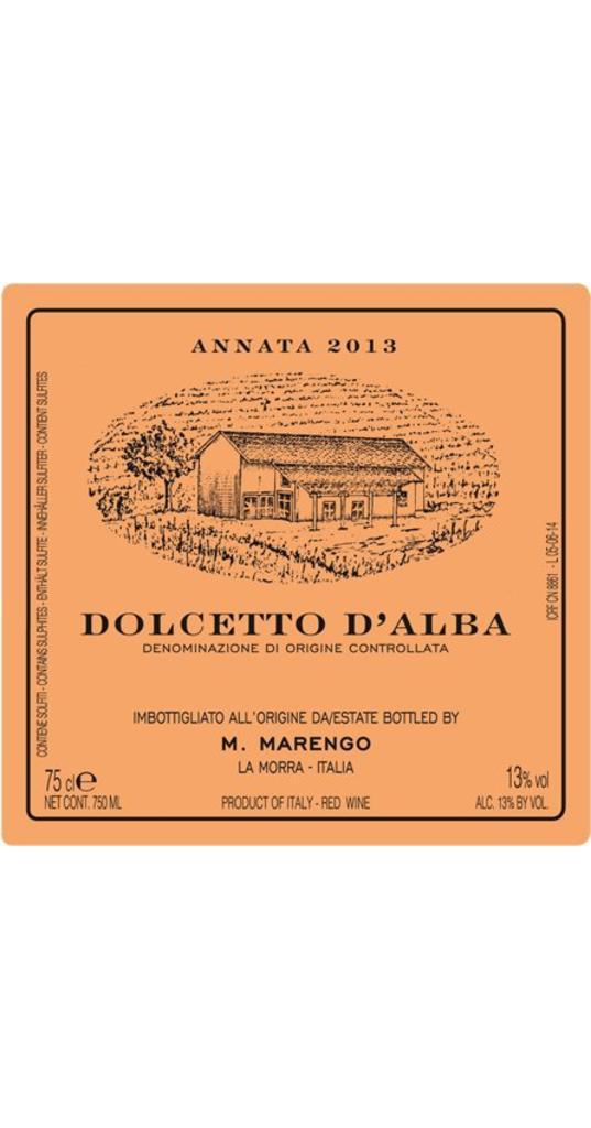 Mario Marengo Mario Marengo, Dolcetto d´Alba doc 2015