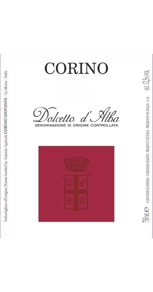 Corino Corino, Dolcetto d´Alba doc 2015