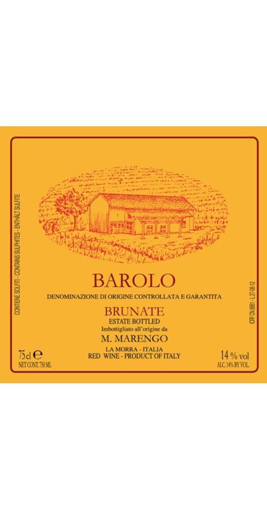 Mario Marengo Mario Marengo, Barolo docg Brunate 2013