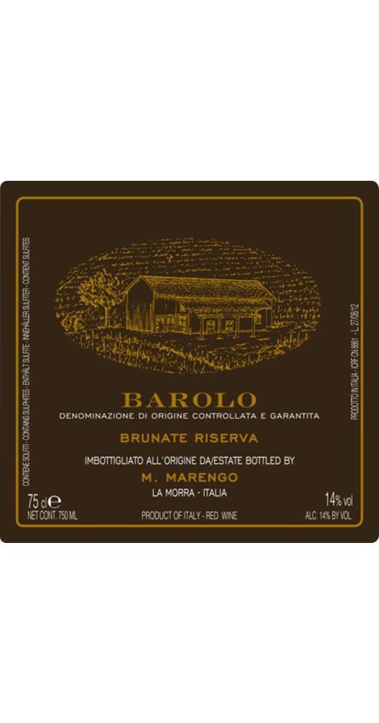Mario Marengo Mario Marengo, Barolo riserva docg Brunate 2011
