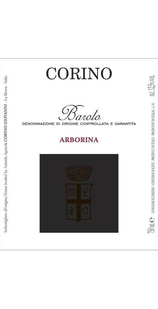Corino Corino, Barolo docg Arborina 2013
