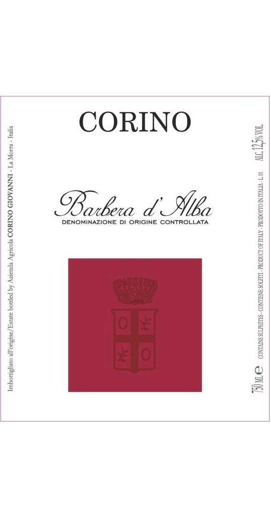 Corino Corino, Barbera d´Alba doc 2016