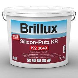 Brillux (Preisgr. suchen) Silicon-Putz KR K2 3649