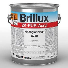 Brillux (Preisgr. suchen) 2K-PUR-Acryl Hochglanzlack 5740. einschl. Härter