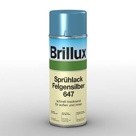 Brillux Sprühlack Felgensilber 647