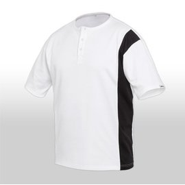 (Farbton: Preisgr. suchen) 3466 Maler-T-Shirt mit Knopfleiste