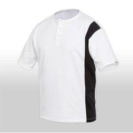 (Preisgr. suchen) 3466 Maler-T-Shirt mit Knopfleiste