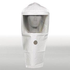 (Preisgr. suchen) 1275 Kopfschutzhaube mit Sichtfenster